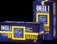 Омега-3 30% с кедровым маслом и витамином Е